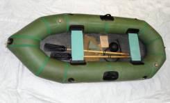 Новая двухместная резиновая лодка Язь-2 У