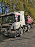 Продам сидельный тягач Scania p400, 6*4, 2014