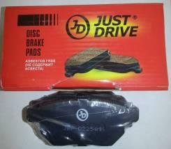 Колодки Тормозные, Задние D2254m To Corolla/Auris #E15# (Eur) 06-, Vitz/Yaris Ncp91 Rs 05-, Ractis Ncp100, Urban Cruiser Nlp115Great Wall Voleex C30 , Hover M2 4/2, M4 Just Drive арт. JBP0064