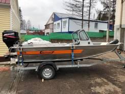 Продается Алюминиевая лодка Wellboat-52МDC