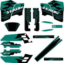 Оракал Yamaha XT225 Serow 90-93 зеленый/черный