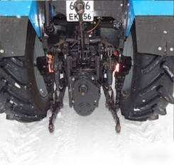 Передний привод вом для трактора мтз 1221