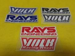 Наклейки на диски RAYS VOLK Racing! В наличии!