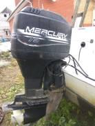Mercury. 75,00л.с., 2-тактный, бензиновый, нога L (508 мм), 1996 год