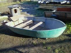 Стекло пластиковая лодка