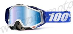 Очки 100% Racecraft Cobalt Blue Mirror Blue Lens 50110-002-02