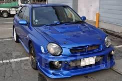 Обратная ноздря в капот Subaru Impreza WRX STI GG GDA GDB 01-02 v7, Forester SG