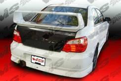 Задняя губа Subaru Impreza WRX STI GDA GDB 03-05г. v8 MKII Chargespeed