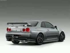 Задний бампер Nissan Skyline R34 GTR Z Tune