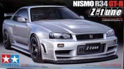 Передний бампер Nissan Skyline R34 GTR Z Tune