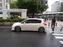 Пороги Nissan Tiida С11 Impul