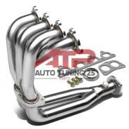 Выпускной коллектор + даунпайп - Honda Civic D15 D16 4-2-1.