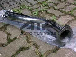 Даунпайп - Toyota 1JZ-GTE, 2JZ-GTE for GT35 GT30 V-Band 76мм