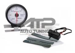 Датчик давления турбины Boost белый 60мм - Apexi