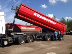 Kassbohrer. Cамосвальный полуприцеп DL + тягач МАЗ 6430В9-1420-010, СПб, 30 900кг.