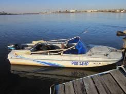 Продам лодку Обь-3 с мотором Mercury 25 л. с.