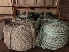 Продам швартовые концы, новые ф64, 8 бухт по 200 метров.