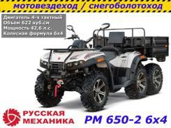Русская механика РМ 650-2 6х4, 2018