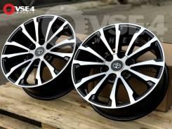 NEW! В Наличии! # Toyota Prado 150 R18 Black Machine Face [VSE-4]