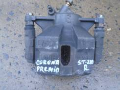 Суппорт тормозной. Toyota Corona Premio, ST210