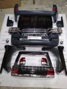 Комплект рестайлинга, переделка Toyota Land Cruiser 200 с 08-15 в 2016