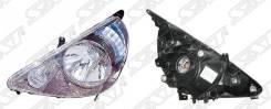 Фара Honda FIT 01-07 5D хром / SAT / / ST-217-1153L / ST-217-1153L / S