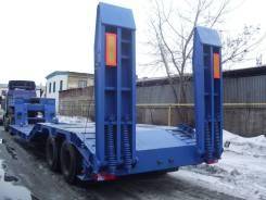 ЧелябДорМаш. Низкорамный трал для бездорожья (корыто) ЧДМ (2 оси, 26 000 кг), 26 000кг. Под заказ