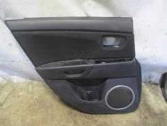 Обшивка двери задней левой Mazda 3 (BK) 2002-2009
