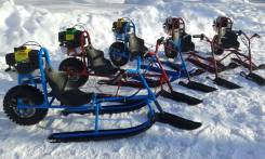 Мотоснегокат-снегоход детский, 2020. исправен, без псм, без пробега