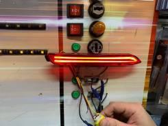 Стоп-вставка LED фонари в задний бампер вместо катафотов на Toyota