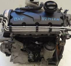 Контрактный двигатель BXE VW Golf Passat Jetta Skoda Octavia Superb