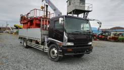 Isuzu Forward. борт 8 тонн, кран 3 т, 8 000 куб. см., 8 000 кг., 4x2