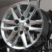 Новые диски R17 на Toyota Land Cruiser Prado Lexus GX
