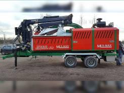 Древесная дробилка MUS-MAX WT10, 4800 м/ч