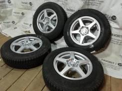 """Красивые литые диски Weds на шинах Bridgestone 175/80R15. 5.5x15"""" 5x114.30 ET41"""