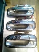 Ручка двери внешняя Nissan Sunny B15 передняя левая