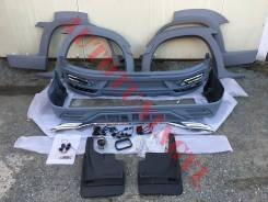 Обвес, Фендера WALD на Toyota LAND Cruiser 200 2016-18 год! Пластик