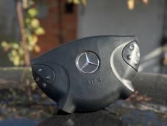 Подушка безопасности водителя. Mercedes-Benz E-Class, W211