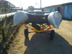 Продам лодку ПВХ Солар с надувным дном, длина 5.55 м- 2012 г. в