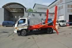 Бункеровоз портальный погрузчик лодочка 8 кубов 5 тонн Hyundai HD 78