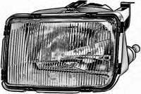 Автомобильная светооптика - фара , габаритный огонь , поворотник .