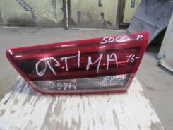 Фонарь задний внутренний правый Kia Optima IV 2016>