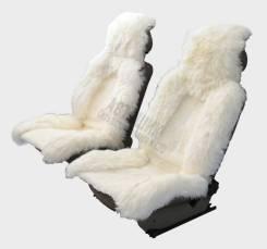 """Накидка меховая """"SENATOR Country Luxe"""" SC012WH комбинированный мех, натур.овчина, ком-кт 2шт., белый"""