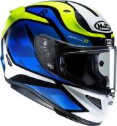 Шлем HJC RPHA 11 DEROKA MC2 размер:L (В комплекте Пинлок и темное стекло)