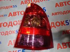 Задний фонарь. Toyota Corolla Fielder, NZE121, NZE124, ZZE122, ZZE123, ZZE124, NZE121G, NZE124G, ZZE122G, ZZE123G, ZZE124G 1NZFE, 1ZZFE, 2ZZGE