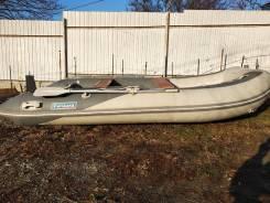 Лодка Forward MX360FL (пайолы фанеры, цвет серый)