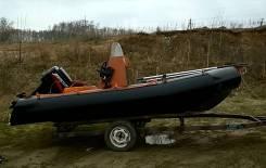 Лодка РИБ из ПНД (полиэтилена)