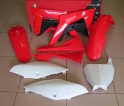 Комплект пластика R-Tech Honda CRF450R/RX 2017 красный-белый (R-KITCRF-OEM-600)