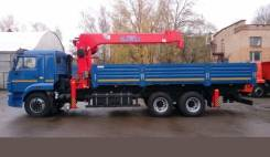 Kanglim KS1256G-II. Камаз бортовой 65117 с КМУ Kanglim 1256G II, 6x4