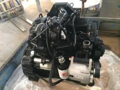 Двигатель в сборе. Hyundai Samsung